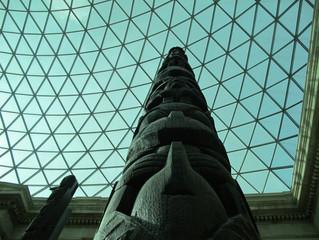 COVID-19 Lockdown Museum Item 4 - Totem Pole at the British Museum