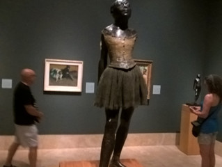 Degas Bronzes at the Norton Simon