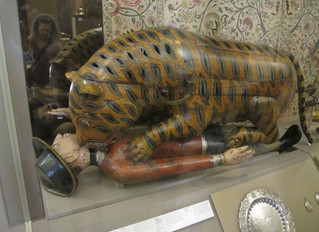 COVID-19 Lockdown Museum Item 13 - Tipu's Tiger, Victora and Albert Museum London