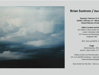 Brian Sostrom at the Lower Columbia College Gallery