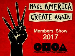 Make America Create Again at COCA