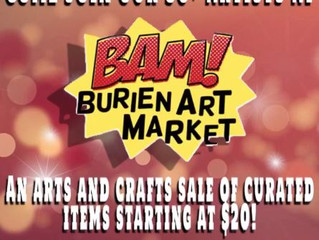BAM - Burien Art Market December 12-14th