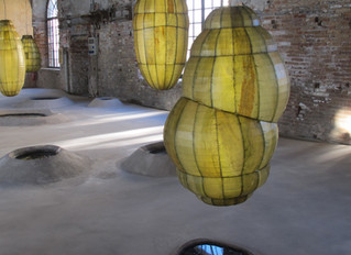 COVID-19 Lockdown Museum Item 6 - Venice Biennale Anicka Yi, Biologizing the Machine (tentacular tro