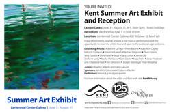 Kent Summer Art Exhibit 2015