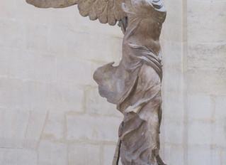 COVID-19 Lockdown Museum Item 2 - Winged Victory of Samothrace