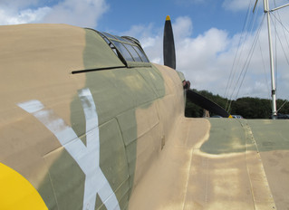 COVID-19 Lockdown Museum Item 9 - Hawker Hurricane Fighter Plane, Battle of Britain Memorial
