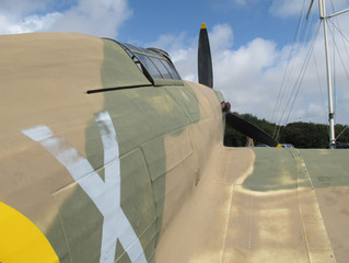 COVID-19 Lockdown Museum Item 9 - Hawker Hurricane Fighter Plane, Battle of Britain Memorial