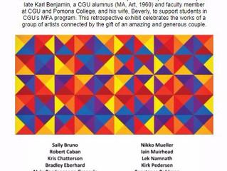 Karl & Beverly Benjamin  Fellowship in Art Recipients Exhibition