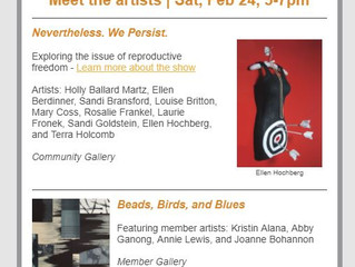 Columbia City Gallery February Opening Saturday the 24th from 5-7
