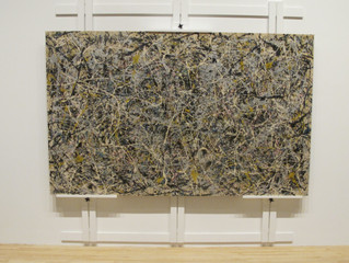 COVID-19 Lockdown Museum Item 3 - Jackson Pollock's Number 1 1949