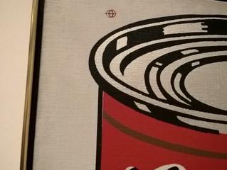 Warhol Soup Cans at LACMA