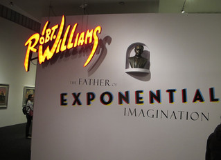 Last Chance to see Robert Williams at the Bellevue Art Museum