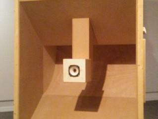 COVID-19 Lockdown Museum Item 12 -KEVIN SCHMIDT: DYI HIFI (Giant Speaker Vancouver Art Gallery)