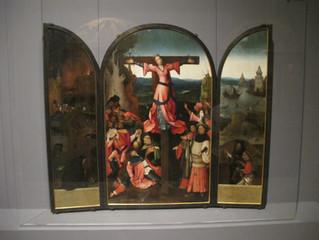 COVID-19 Lockdown Museum Item 15 -Hieronymus Bosch, Saint Wilgefortis Triptych - Venice