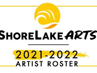 Added to the ShoreLake Artist Public Art Roster