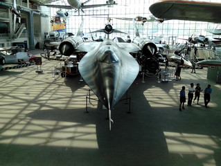 COVID-19 Lockdown Museum Item 16 -Lockheed M-21 Blackbird Spy Plane, the Museum of Flight Seattle