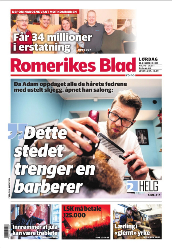 Interview with Romerikes Blad