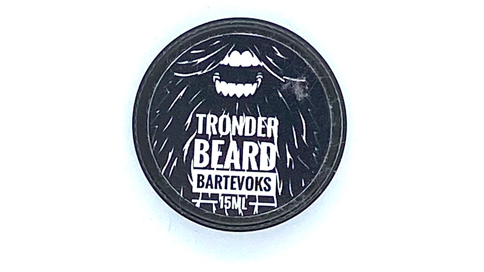 Trønder Beard Black Moustache Wax