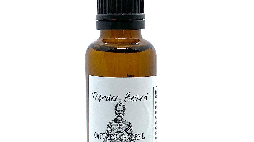 Trønder Beard Captain's Barrel Beard Oil