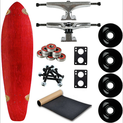 "Longboard Kit 9.75"" x 36.75"" Kicktail"