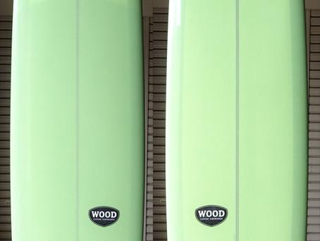 "used Wood Custom Greaser 9'5"""