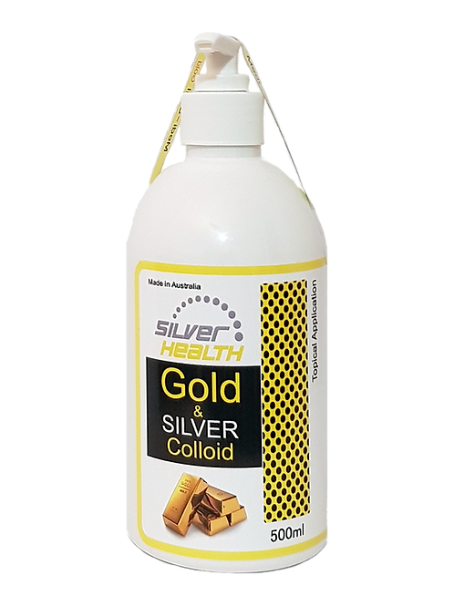 Silver & Gold Colloid 500ml