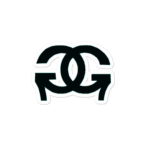 GG Vinyl Logo Sticker