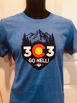 303 Running Go Nell! T-shirt