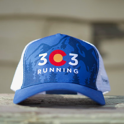 303 Running Trucker Cap