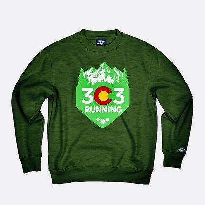 "303 running Shamrock ""OG"" crew neck sweatshirt"
