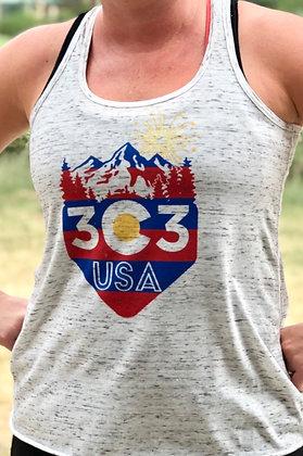 Women's 303 USA Tank