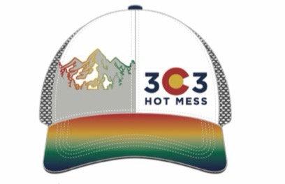 303 Hot Mess Trucker hat