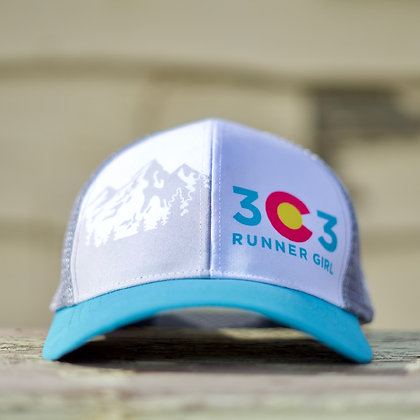 303 Runner Girl Trucker Cap
