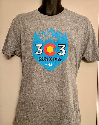 303 Running Traditional Gray T-Shirt