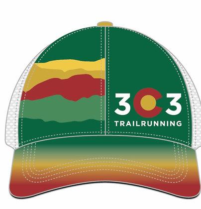 303 Trail Running Trucker hat
