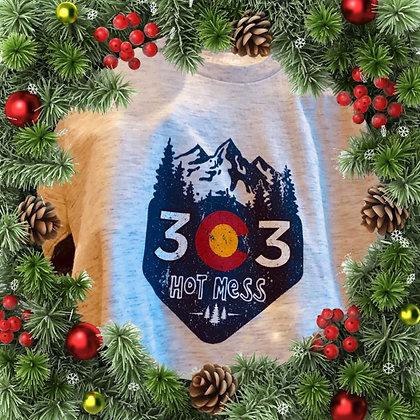 303 Hot Mess crew sweatshirt