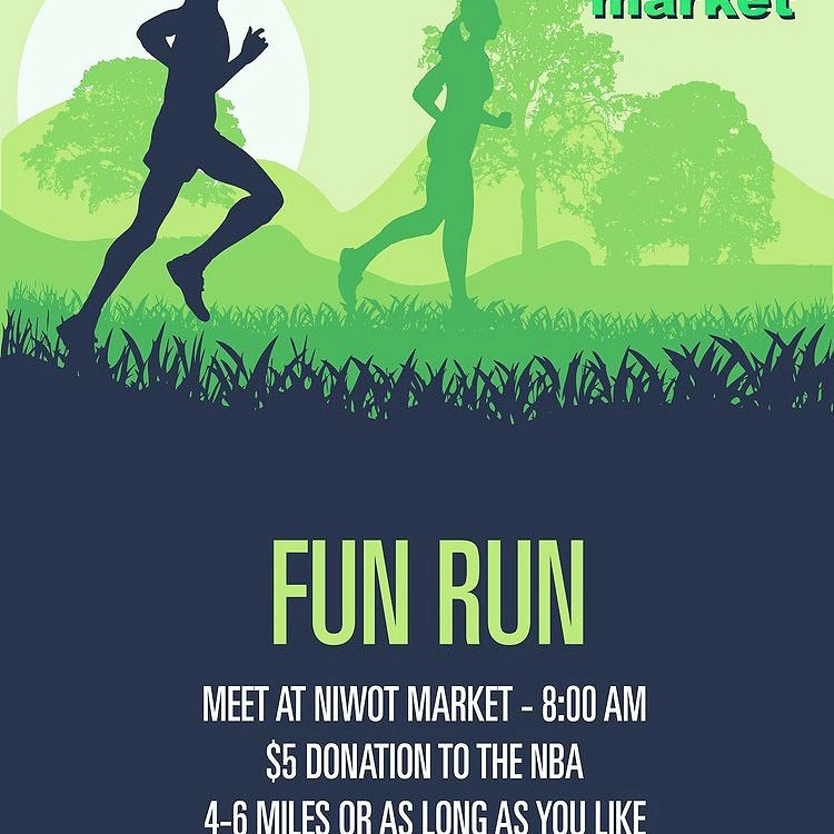 Niwot Market 303 Running Fun Run