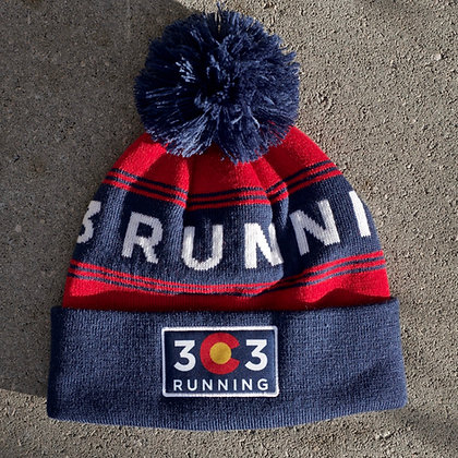 303 Running Cold Weather Beanie