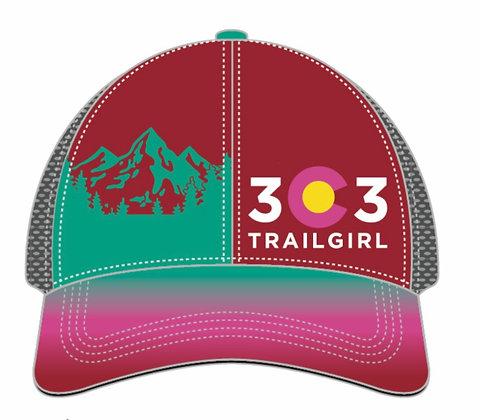 303 Trail Girl Trucker hat