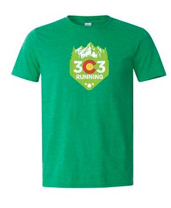 303 Running T-Shirt Traditional clover