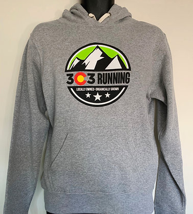 303 Running Gray Hoodie