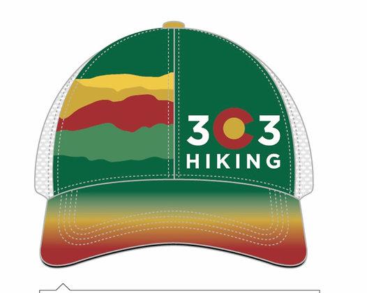 303 Hiking Trucker hat