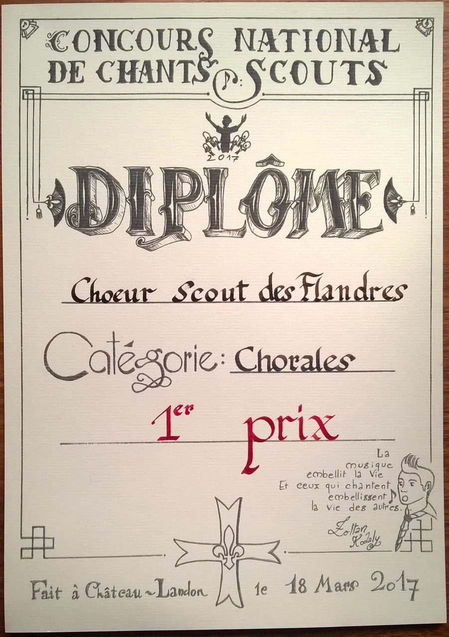 Diplôme_CSF_ConcoursChants