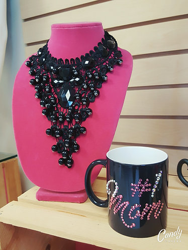 #1 MOM SPECIALTY COLOR CHANGING MUG W/CRYSTALS