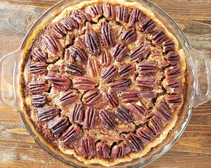 Scratch made pecan pie!