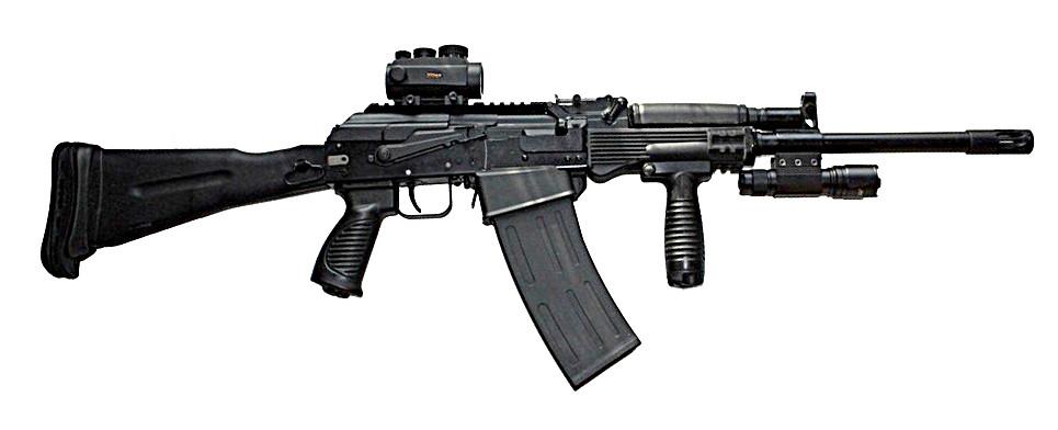 Гражданское гладкоствольное ружьё Сайга-