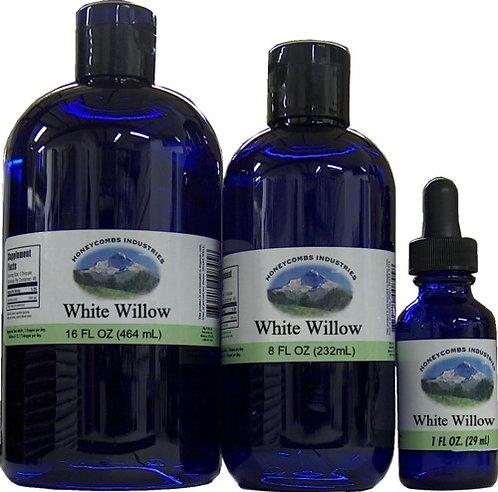 WHITE WILLOW: organic, alcohol free