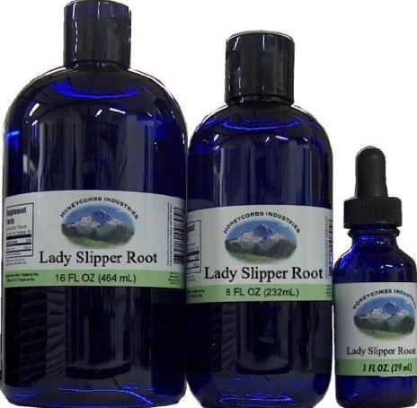 Lady Slipper: organic, alcohol free