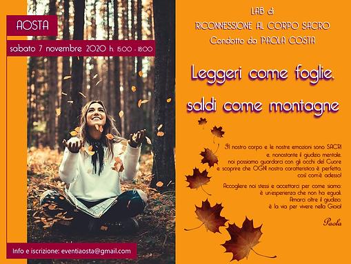 2020 11 07 - AO - Leggeri come foglie.pn