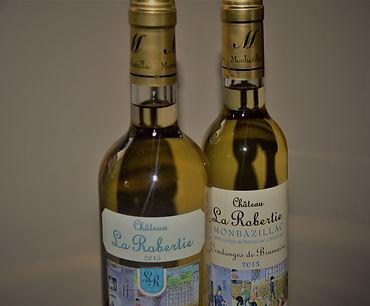 monbazillac blanc licoreux château la robertie